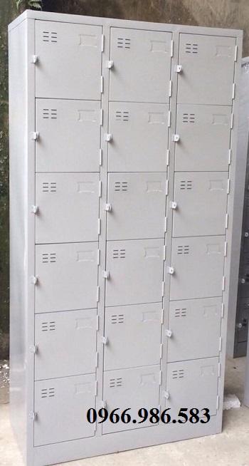 tủ sắt locker 18 ngăn giá rẻ