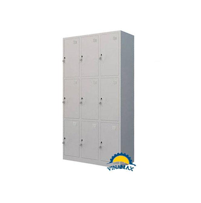 Tủ locker sắt 9 ngăn