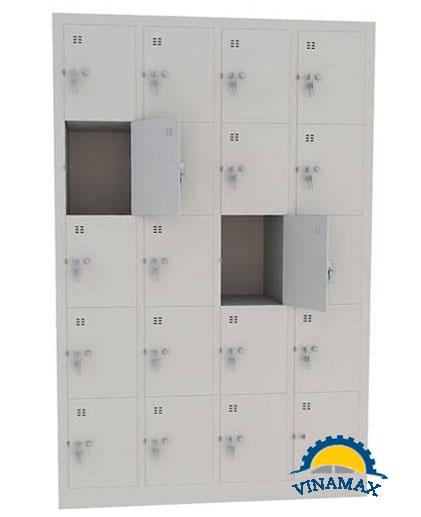 Tủ locker 20 ngăn chính hãng, giá rẻ