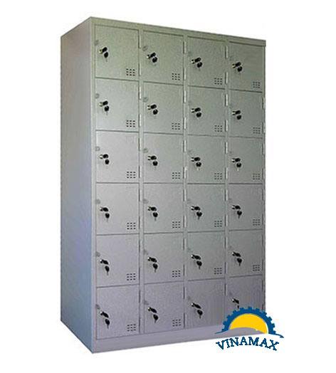 Tủ sắt cá nhân của công nhân 24 ngăn
