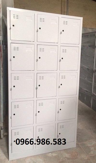 tủ sắt học sinh 15 ngăn giá rẻ