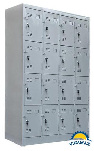 Tủ sắt nhân viên 16 ngăn