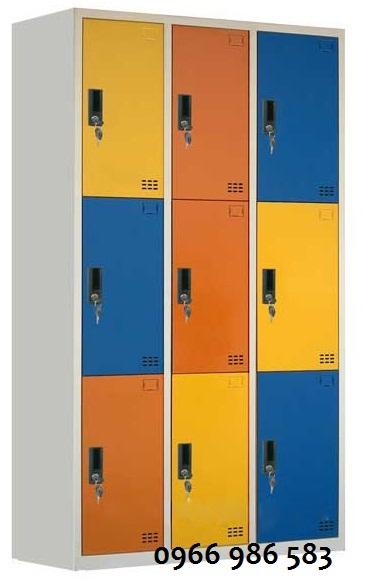 Tủ cá nhân học sinh 9 ngăn giá rẻ