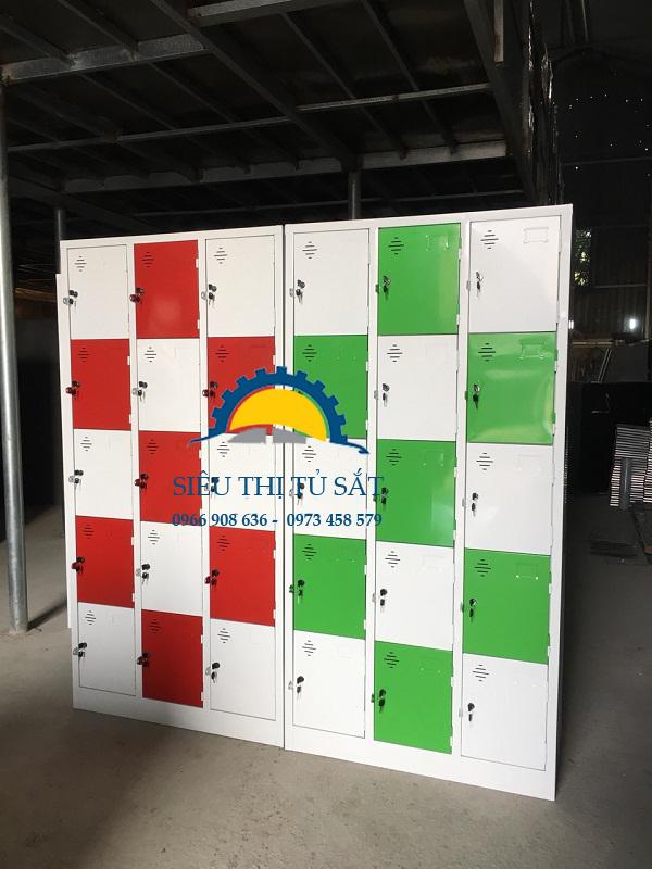 Một số mẫu sản phẩm tủ locker sắt theo yêu cầu 3