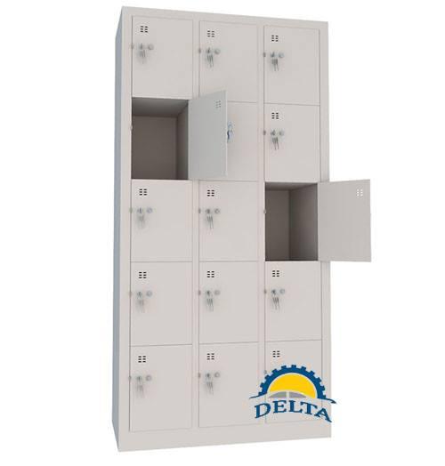 Tủ sắt 15 ngăn, tủ để đồ cá nhân 15 ngăn, tủ sắt 15 cánh, tủ locker 15 cánh
