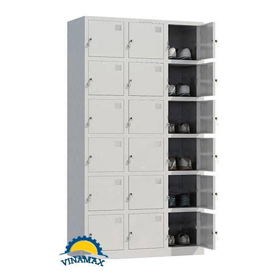 Tủ locker 18 ngăn giá rẻ Vinamax