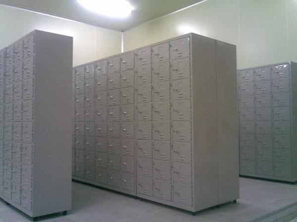 tủ locker sắt 30 ngăn để đồ công nhân
