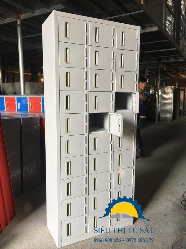Một số mẫu sản phẩm tủ locker sắt theo yêu cầu 5