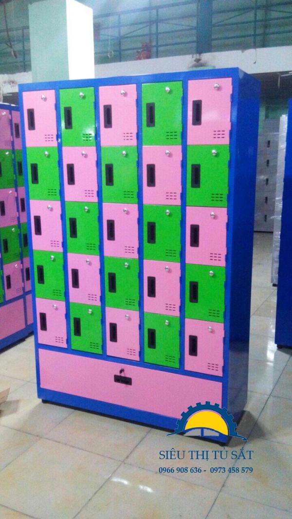 Một số mẫu sản phẩm tủ locker sắt theo yêu cầu 6